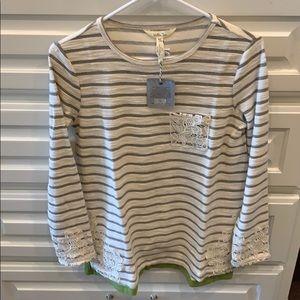 Matilda Jane stripe long sleeve top